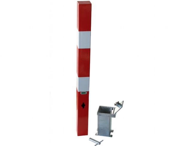 Afzetpaal wegneembaar H207M/1C