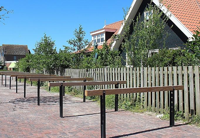 Foto Fietsparkeren Texel