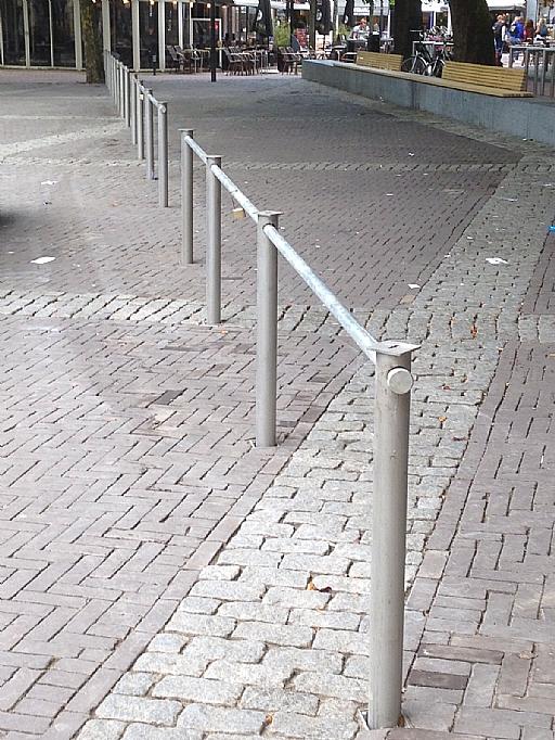 Inzinkbaar fietsparkeersysteem
