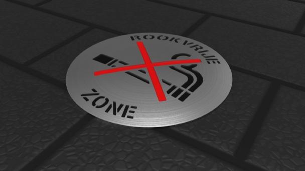 Wegdeknagel Rookzone